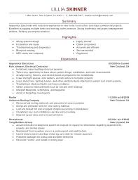 Sample Resume Electrician – Amere