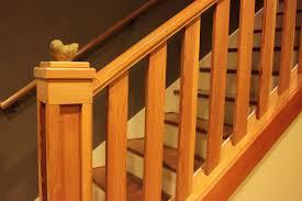 Wood Stair Railing Build