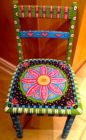 Blue Morpho Butterfly  Ohio Messages And PaintingsHand Painted Benches