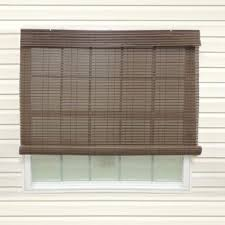 outdoor rollup sun shades immense coolaroo walnut cordless exterior roller shade 120 in w x 96 home