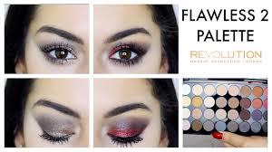 makeup revolution flawless palette looks