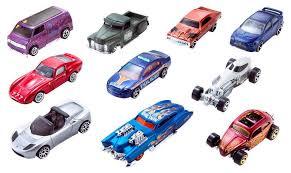 <b>Набор</b> машинок <b>Hot Wheels</b> 54886, масштаб 1:64,10шт - купить ...