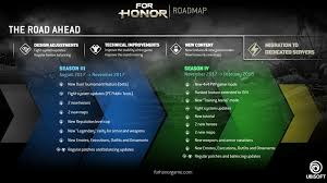 For Honor Gear Chart Season 3 For Honor Development Schedule Ubisoft Us