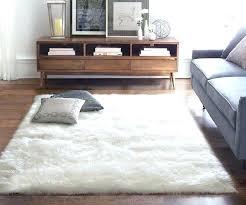white fluffy rug tylerandrews throughout rugs for bedroom designs 14