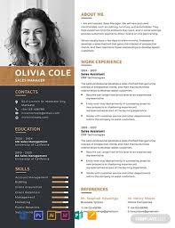 Free One Page Resume Template Word Psd Indesign