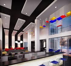 Arts Clubhouse Interior | De Stijl movement | B2 Architecture