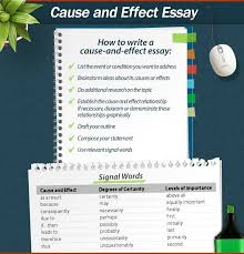 best cause and effect essay ideas essay writing useful information on writing a cause and effect essay