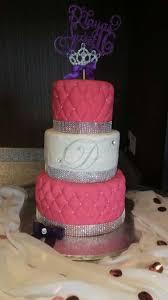 3 Tier Sweet 16 Birthday Cake