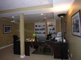basement office ideas. Small Basement Office Ideas Table
