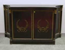 lacquered furniture. f u0026 g furniture attributed art moderne parcelgilt carved and black lacquered t