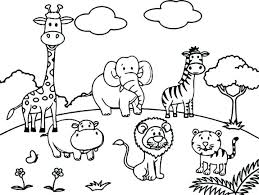 Animal Coloring Pages For Preschoolers Westtraverseinfo