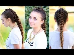 Pretty Girls Hairstyle the dragon braid cute girls hairstyles youtube 7178 by stevesalt.us