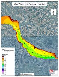 Army Corp Of Engineers Ice Thickness Chart Lake Pepin Ice Measurements