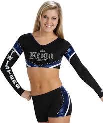 Image result for lycra cheerleader tops