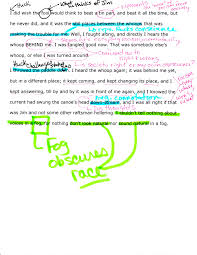 huck mm project race ing through huck finn silly student i note i printed off my passage then i annotated it scanned it back as an image i went to insert then image in the menu at the top left