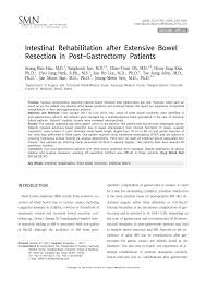 pdf intestinal rehabilitation after extensive bowel resection in post gastrectomy patients