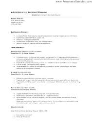 Sample Resume Admin School Admin Assistant Sample Resume Ha