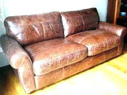 arm worn leather sofa repair couch