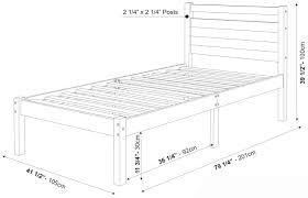 Bedroom Twin Size Mattress Dimensions
