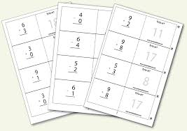 Pictures on Math Flash Card Games, - Easy Worksheet Ideas