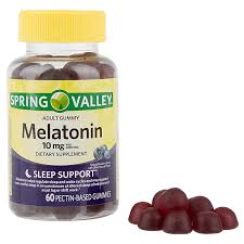 Spring Valley Melatonin Adult Gummies 10 Mg 60 Count
