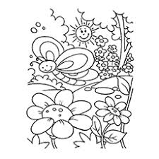 spring color sheets.  Color God Made Beautiful Spring Climate Coloring Page On Color Sheets