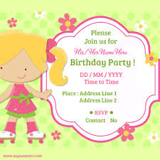 Invitations Card Maker Bday Invitation Cards Under Fontanacountryinn Com