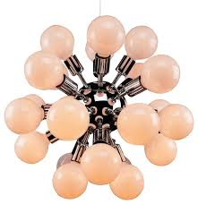 sputnik chandelier chrome