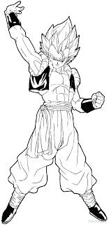 Super Coloring Pages At Free Dragon Ball Z Coloring Pages Super 5