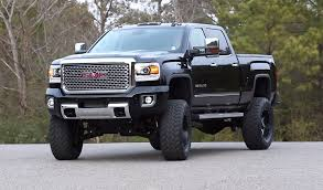 gmc trucks lifted 2015.  Gmc Go Over Anything Lifted 2015 GMC Denali 2500HD Is All Business  ChevyTV With Gmc Trucks E