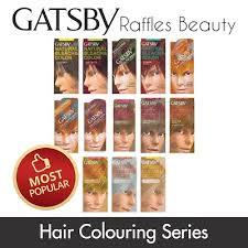 gatsby diy hair color dye bleach hair remake spray coloring series wax treatment tonic serum