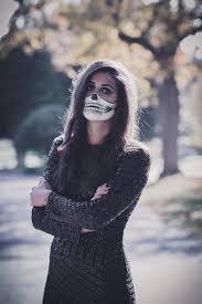 skeleton makeup a southern drawl half skeleton costume