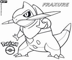 Pokémon Black And White Coloring Pages Printable Games