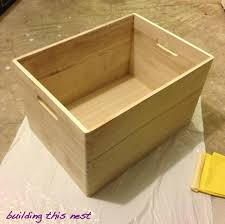 Decorative Wood Boxes With Lids Interior Wooden Storage Cubes With Baskets Decorative Wooden 68