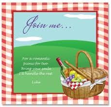 Picnic Template Printable Picnic Invitation Template