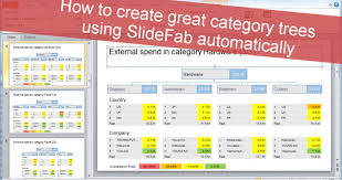 Category Trees Automatic Creation From Excel To Powerpoint