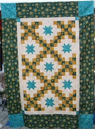 15 best Merry Mayhem's Mystery Quilts images on Pinterest | Merry ... & Lucky Stars - Merry Mayhem Mystery Quilt - July 18, 2010 by Happy 2 Sew Adamdwight.com