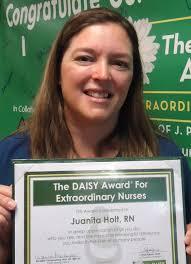 Juanita Holt   The DAISY Foundation