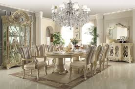 Inspiring Black And White Dining Room Designs Decorating Room - Formal dining room sets for 10