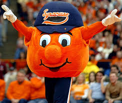 Otto the Orange Syracuse University