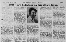 how newspapers reviewed to kill a mockingbird in newshour 1960 review of to kill a mockingbird in san francisco sunday chronicle