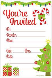 Christmas Party Invitation Sansalvaje Com