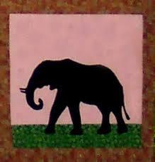 SFAPJ-102 African Safari Elephant Fusible Applique Quilt Pattern & 102- Sew Fabulous® Safari Elephant Applique Pattern Adamdwight.com
