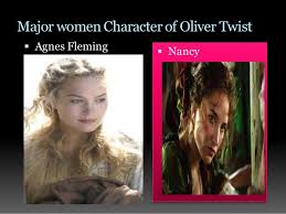 discuss the portrait women characters in oliver twist  4 major women character of oliver