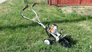 stihl garden tiller cultivator image 2 yard boss near new tines e29