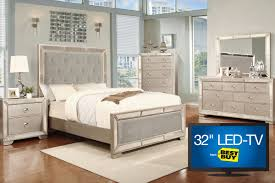 Led Bedroom Furniture Image 5 Piece Queen Bedroom Set With 32 Led Tv