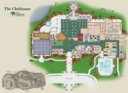 Clubhouse Floor Plan Design Hilton Head Senior Living Community The Cypress Of Hilton Head
