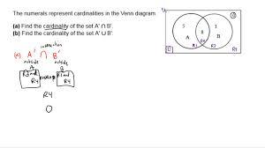 Venn Diagram A Venn Diagram Cardinality Question