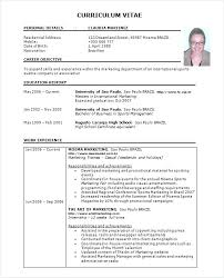 Resume Templates In Word Format Resume Templates In Word Format ...