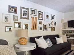 fanciful living room photo wall beautiful livin nice decorating with family wallpaper frame gallery collage color